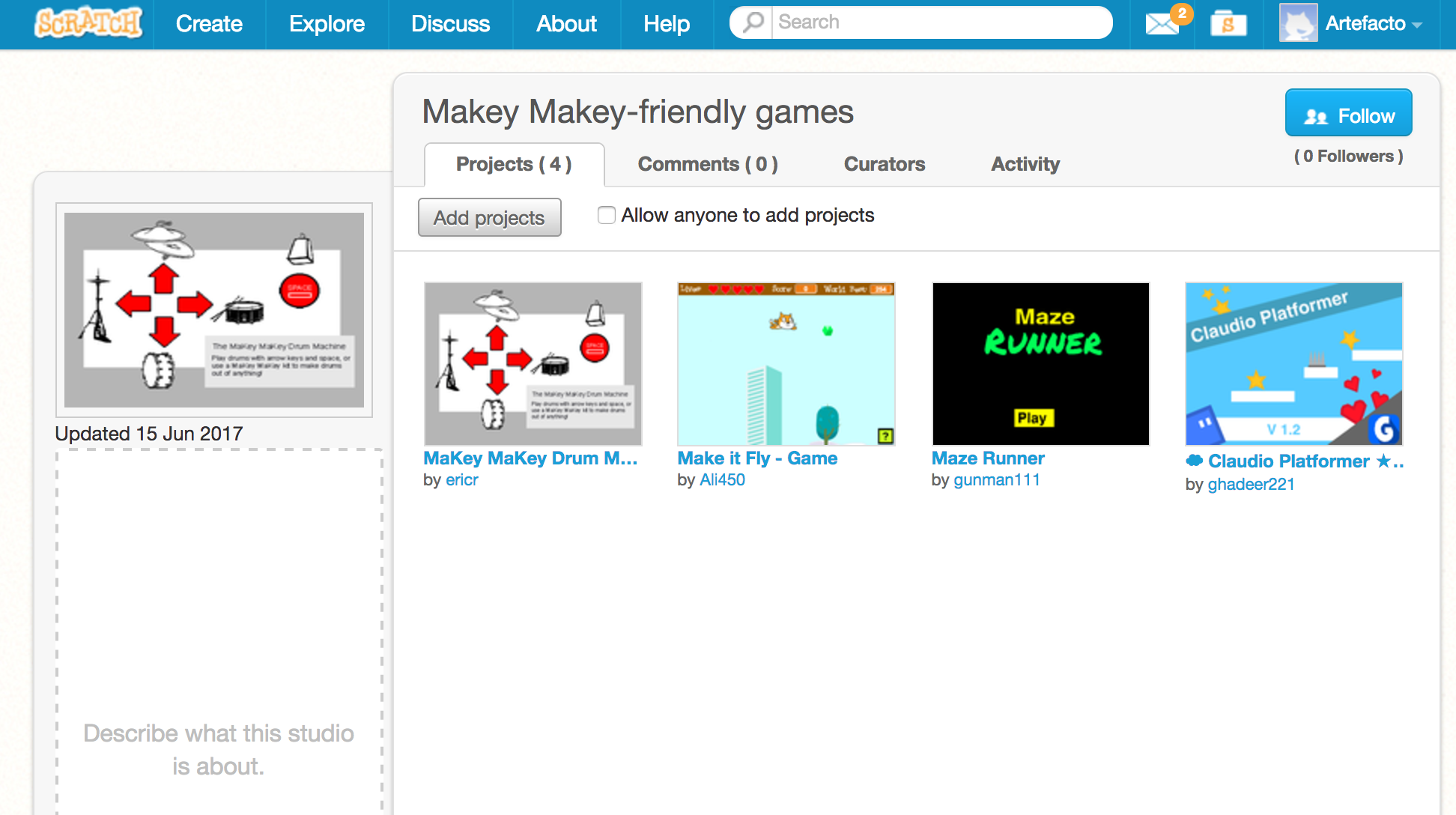 LibraryMakers - Make your own game controller with Makey Makey