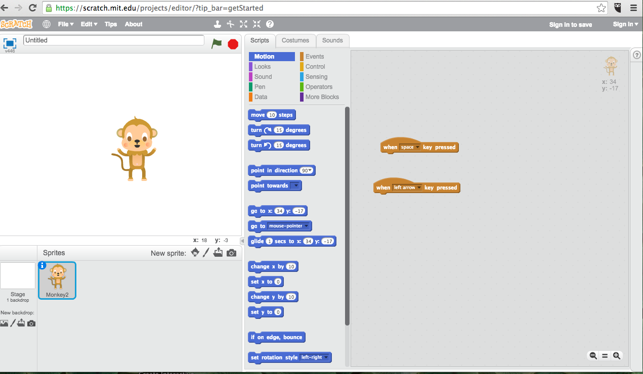 Scratch and Makey Makey 1